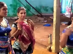 Latest Great Closeup Dance with the addition of Humorous Speech Midnight Karakattam in Tamil Nadu 2017 4K