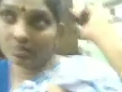 VID-20160725-PV0001-Villivakkam (IT) Tamil 38 yrs old married beautiful, hot and sexy housewife aunty Mrs. Janaki Ramachandran tits dominated and sucked sex porn sheet # Indha auntya ozhuthavanukku sema chance kedachadhu_ adhishtakkaran, lucky man..!
