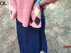 Outdoor jangle  girlfriend teen shalini