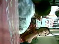 Indian - maid aunty helter-skelter office -
