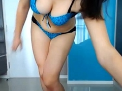 Sexy Indian desi mollycoddle hot boobs and exasperation
