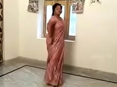 Telugu lanja dance with titillating body