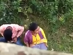 Indian couple caught on secret camera
